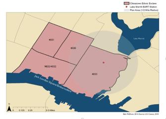 McElvain ethnic enclaves